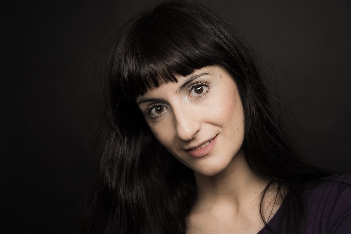 Antoaneta Cojocaru Romanian Actors by Simion Buia