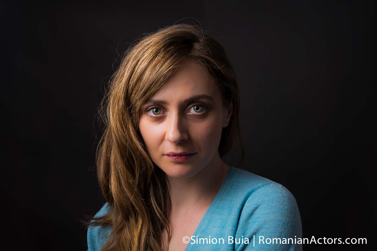 Andreea Sovan fotografiata de Simion Buia