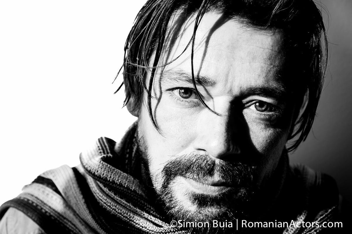 Cristi Iacob actor_Romanian_Actors by Simion Buia, actor